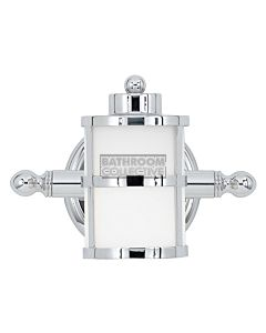 Elstead - Tranquil Bay 1 Light Traditional Bathroom Wall Light in Polished Chrome