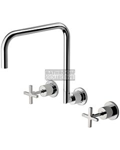 Phoenix Tapware - Radii Wall Sink Set 300mm