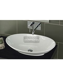 Paco Jaanson - 03 Series Managua 640mm Top Mounted Basin Gloss White