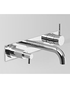 Astra Walker - Icon Wall Basin Mixer with Soap Dispenser 200mm CHROME A69.06.48.53.V2