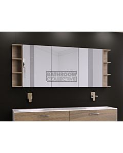Timberline - Boston 1800mm Shaving Cabinet
