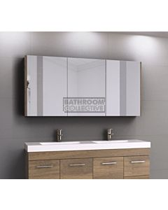 Timberline - Denver 1500mm Shaving Cabinet