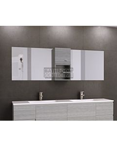 Timberline - Pure Zest 1800mm Double Mirror Shaving Cabinet