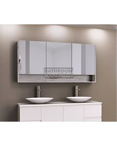 Timberline - Sanremo 1500mm Shaving Cabinet