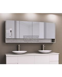 Timberline - Sanremo 1800mm Shaving Cabinet