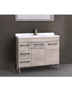 Timberline - Eden 1050mm On Leg Vanity with Acrylic Top