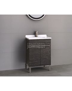Timberline - Eden 600mm On Leg Vanity with Acrylic Top