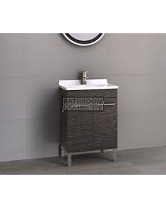 Timberline - Eden 600mm On Leg Vanity with Acrylic Top