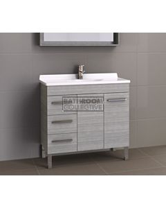 Timberline - Eden 900mm On Leg Vanity with Acrylic Top