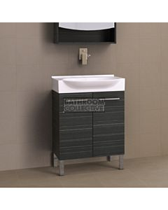 Timberline - Lisbon 650mm On Leg Vanity with Ceramic Top