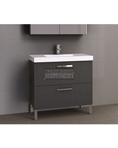 Timberline - Orlando 900mm On Leg Vanity with Grand Acrylic Top