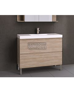 Timberline - Orlando 1050mm On Leg Vanity with Grand Acrylic Top