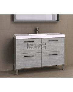 Timberline - Orlando 1200mm On Leg Vanity with Grand Acrylic Top