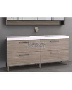 Timberline - Orlando 1800mm On Leg Vanity with Grand Acrylic Top