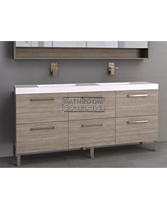Timberline - Orlando 1800mm On Leg Vanity with Double Basin Grand Acrylic Top