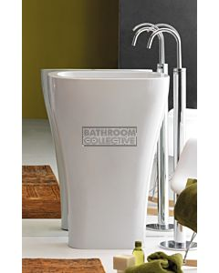 Kerasan - Aquatech Freestanding Ceramic Pedestal Column Basin