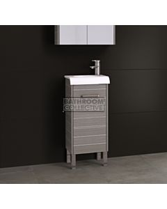 Timberline - Andorra 400mm On Leg Vanity with Ceramic Top