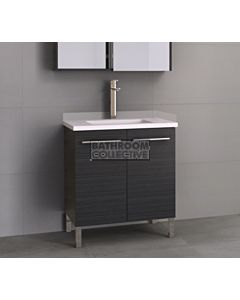 Timberline - Dakota 750mm On Leg Vanity with Stone, Freestyle or Meganite Top and Under Counter Basin