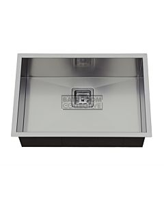 Modern - Taranto 650mm Single Bowl, Square Corner Square Waste