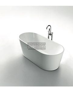 Modern - Grenada 1700mm Round Freestanding Acrylic Bathtub
