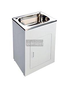 Modern - Faro 600mm 45L Freestanding Compact Laundry Tub