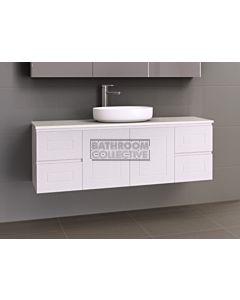 Timberline - Nevada Classic 1500mm Wall Hung Vanity with 20mm Meganite Top and Ceramic Above Counter Basin