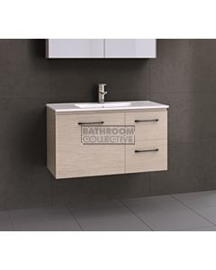 Timberline - Nevada 900mm Wall Hung Vanity with Acrylic Top
