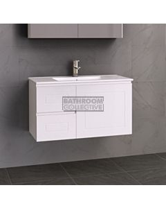 Timberline - Nevada Classic 900mm Wall Hung Vanity with Ceramic Top