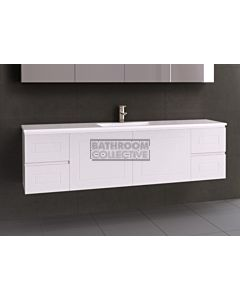Timberline - Nevada Classic 1800mm Wall Hung Vanity with Acrylic Top