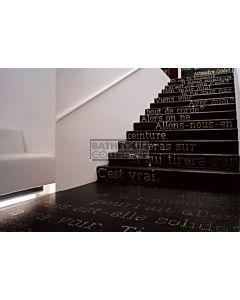 Bisazza - Flooring Alfabeto Decorative Glass Mosaic Tile, per lineal metre
