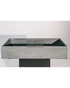 Noodco - The Trough Concrete Sink in Mid Tone Grey