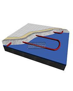 Hotwire Heating - 5.4 m2 In Screed Under Floor Heating Kit 750W