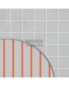 Hotwire Heating - 7.1m2 Undertile Floor Heating Kit 1000W
