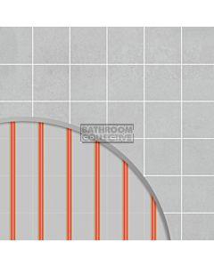 Hotwire Heating - 3.3m2 Undertile Floor Heating Kit 500W