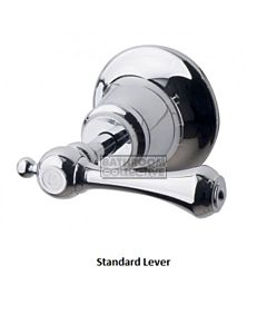 Bastow Tapware - Federation Wall Top Assemblies, Lever Handles CHROME