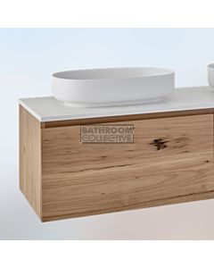 Loughlin Furniture - Ashton 1200mm Real Timber Wall Hung Vanity