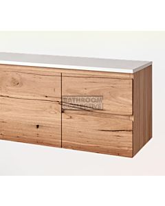 Loughlin Furniture - Kellie 900mm Real Timber Wall Hung Vanity