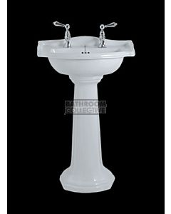 Canterbury - Berkley Small Pedestal Basin 540mm x 390mm