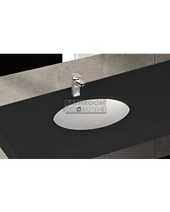 Paco Jaanson - Isvea Soluzione 460mm Round Under Counter Basin Gloss White