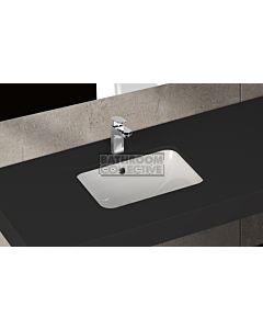 Paco Jaanson - Isvea Soluzione 490mm Rectangular Under Counter Basin Gloss White