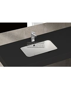Paco Jaanson - Isvea Soluzione 530mm Rectangular Under Counter Basin Gloss White
