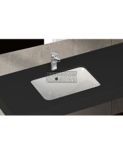 Paco Jaanson - Isvea Soluzione 560mm Rectangular Under Counter Basin Gloss White