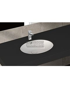 Paco Jaanson - Isvea Soluzione 570mm Round Under Counter Basin Gloss White
