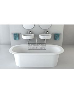 Omvivo - Lily Solid Surface Freestanding Bath 1800mm