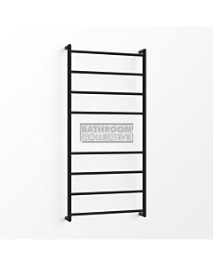 Avenir - Fluid 1300x600mm Towel Ladder - Matte Black