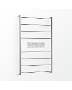 Avenir - Fluid 1300x750mm Heated Towel Ladder - Brushed Stainless Steel
