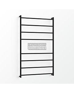 Avenir - Fluid 1300x750mm Heated Towel Ladder - Matte Black