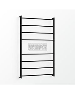 Avenir - Fluid 1300x750mm Towel Ladder - Matte Black