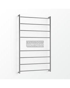 Avenir - Fluid 1300x750mm Heated Towel Ladder - Mirror Stainless Steel