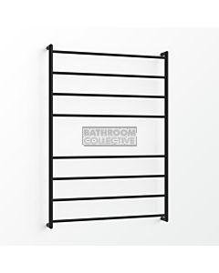 Avenir - Fluid 1300x900mm Heated Towel Ladder - Matte Black